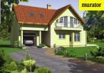 Проект одноэтажного дома с мансардой  - Муратор Ц101а